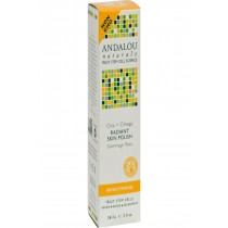 Andalou Naturals Radiant Skin Polish Chia + Omega Brightening - 2 Oz