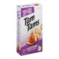 Manischewitz Everything Tam Cracker - Case Of 12 - 9.6 Oz.
