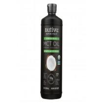 Nutiva 100% Organic Mct Oil - 32 Fl Oz