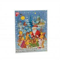 Pea Original Chocolate Filled Advent Calendar - Case Of 24 - 1.76 Oz.