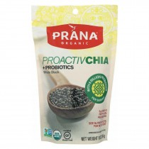 Prana Organics Proactiv Chia - Organic - Whole Black - Case Of 6 - 10 Oz