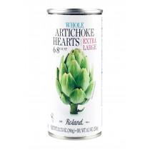 Roland Artichoke Hearts - Extra Large - Case Of 12 - 13.75 Oz.