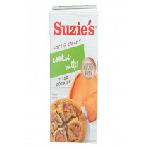 Suzie's Filled Cookies - Cookie Butter - Case Of 12 - 5.29 Oz