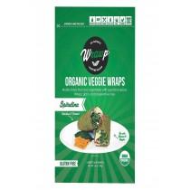 Warp Organic Veggie Flatbread - Spirulina - Case Of 8 - 5.3 Oz.