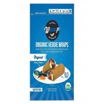Warp Organic Veggie Flatbread - Original - Case Of 8 - 5.3 Oz.