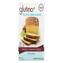 Glutino Sandwich Bread - Case Of 6 - 20.1 Oz.