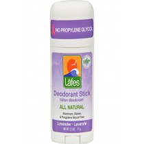 Lafe's Natural Body Care Natural And Organic Deodorant Stick - Lavender - 2.5 Oz