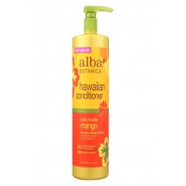 Alba Botanica Hawaiian Conditioner - Body Builder Mango - 32 Oz