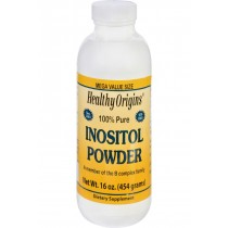 Healthy Origins Inositol Powder - 100 Percent Pure - 16 Oz
