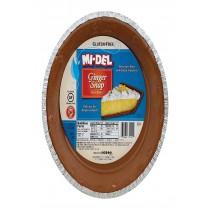 Midel Gluten Free Ginger Snaps - Pie Crust - Case Of 12 - 7.1 Oz.