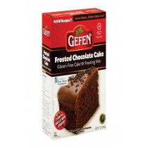 Gefen Gluten Free Chocolate Cake Mix With Frost - Case Of 12 - 17 Oz