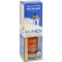 Moom Organic For Men Hair Removal System Kit - 6 Oz