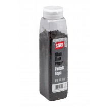 Badia Spices Whole Black Pepper Spice - Case Of 6 - 16 Oz.