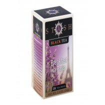 Stash Tea Black Tea - Breakfast In Paris - Case Of 6 - 18 Bags