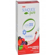 Slimquick Pure Drink Mix - Mixed Berries - 26 Packets