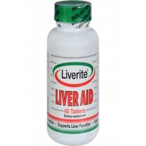 Liverite Liver Aid - 60 Tablets