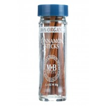 Morton And Bassett Cinnamon Sticks - Cinnamon - Case Of 3 - 1.1 Oz.