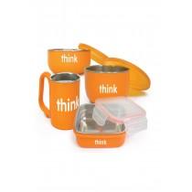 Thinkbaby The Complete Bpa Free Feeding Set - Orange