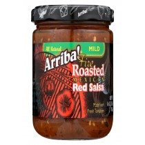 Arriba Red Salsa - Mild - Case Of 6 - 16 Oz.