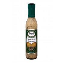 Braswell's Dressing - Vidalia Onion Peppercorn - Case Of 6 - 12 Fl Oz.