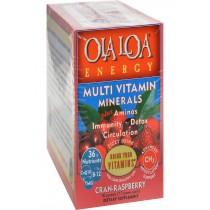 Ola Loa Energy Cran-raspberry - 30 Packets