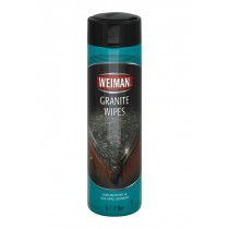 Weiman Granite Wipes - Case Of 4 - 30 Count
