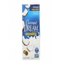 Coconut Dream Enriched Coconut Drink - Original Unsweetened - Case Of 12 - 32 Fl Oz.