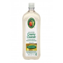 Earth Friendly Lemon Liquid Creamy Cleanser - Case Of 6 - 17 Fl Oz.