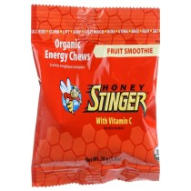 Honey Stinger Energy Chew - Organic - Fruit Smoothie - 1.8 Oz - Case Of 12