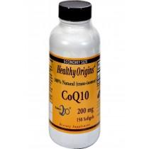 Healthy Origins Coq10 Gels - 200 Mg - 150 Softgels