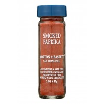 Morton And Bassett Smoked Paprika - Paprika - Case Of 3 - 2 Oz.