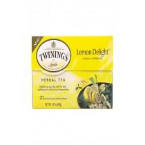 Twinings Tea Tea - Herbal - Lemon Delight - Case Of 6 - 20 Count