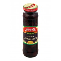 Mezzetta Kalamata Olives - Sliced Greek - Case Of 6 - 9.5 Oz.