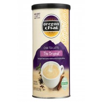 Oregon Chai Original Chai - Powdered Mix - Case Of 6 - 10 Oz.