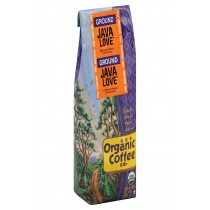 Organic Coffee Company Ground Coffee - Java Love - Case Of 6 - 12 Oz.