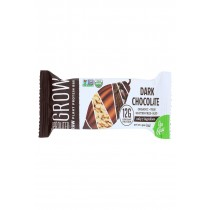 Go Raw Sprouted Grow - Dark Chocolate - Case Of 12 - 1.9 Oz.