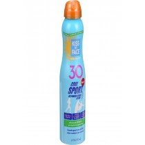 Kiss My Face Sunscreen - Mineral - Continuous Spray - Cool Sport - Spf 30 - 6 Oz