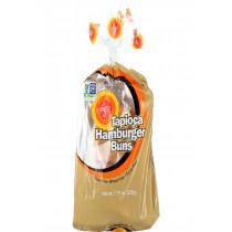 Ener-g Foods Hamburger Buns - Tapioca - 7.76 Oz - Case Of 6