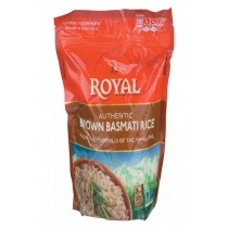 Royal Crest Lifestyle Rice - Basmati - Brown - Case Of 6 - 32 Oz