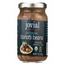 Jovial 100% Organic Beans - Borlotti - Case Of 6 - 13 Oz
