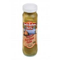 Santa Barbara Stuffed Olives - Bleu Cheese - Case Of 6 - 5 Oz.