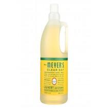 Mrs. Meyers Clean Day Laundry Detergent - Honeysuckle - Case Of 6 - 64 Fl Oz.