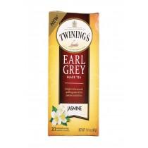Twining's Tea Black Tea - Earl Grey Jasmine - Case Of 6 - 20 Count