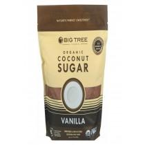 Big Tree Farms Coconut Palm Sugar - Vanilla - Case Of 6 - 14 Oz.