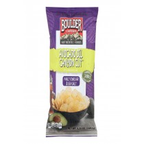 Boulder Canyon Natural Foods Kettle Chips - Malt Vinegar And Sea Salt - Case Of 12 - 5.25 Oz.