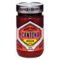 Desert Pepper Trading Cantina Salsa - Medium Red - Case Of 6 - 16 Oz