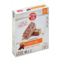 Enjoy Life Snack Bar - Carrot Cake - Case Of 6 - 5.75 Oz.
