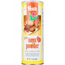Fearns Soya Food Natural Soya Powder - 1.5 Lb - Case Of 12