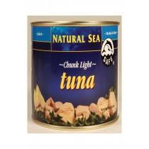 Natural Sea Yellowfin Chunk Light Tuna - Salt - Case Of 6 - 66.5 Oz.