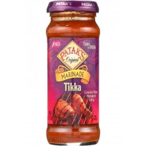 Pataks Curry Paste - Concentrated - Tikka Masala - Medium - 10 Oz - Case Of 6